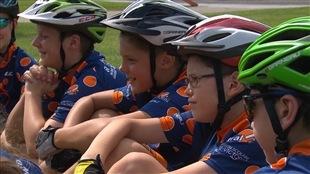 Un défi cycliste pour des jeunes de 10 et 11 ans