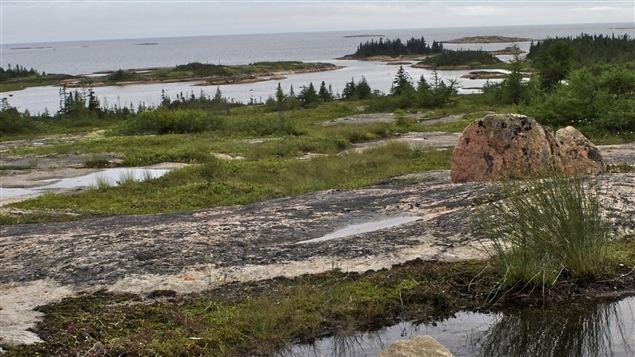 Un paysage du Grand Nord qu�b�cois