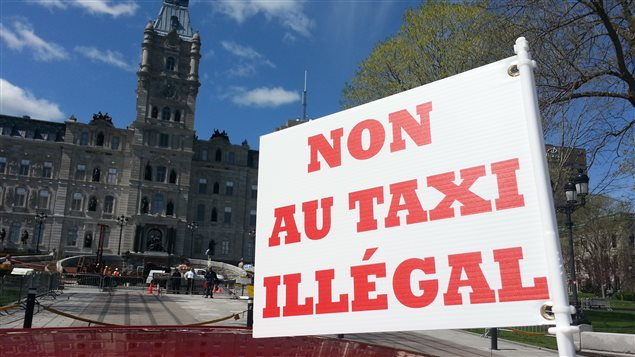 Selon le porte-parole de Coalition Taxi, le ministère des Transports doit absolument légiférer pour mettre un terme à l'activité illégale d'Uber X