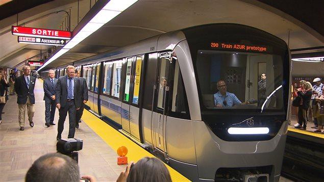Les voitures de métro Azur font leur apparition sur le réseau de la STM
