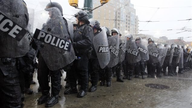 Police working at the G20 in Toronto in 2010 arrested over a thousand demonstrators, but many were never charged.