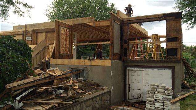 Une premi re maison du futur en construction au qu bec - R mur maison passive ...