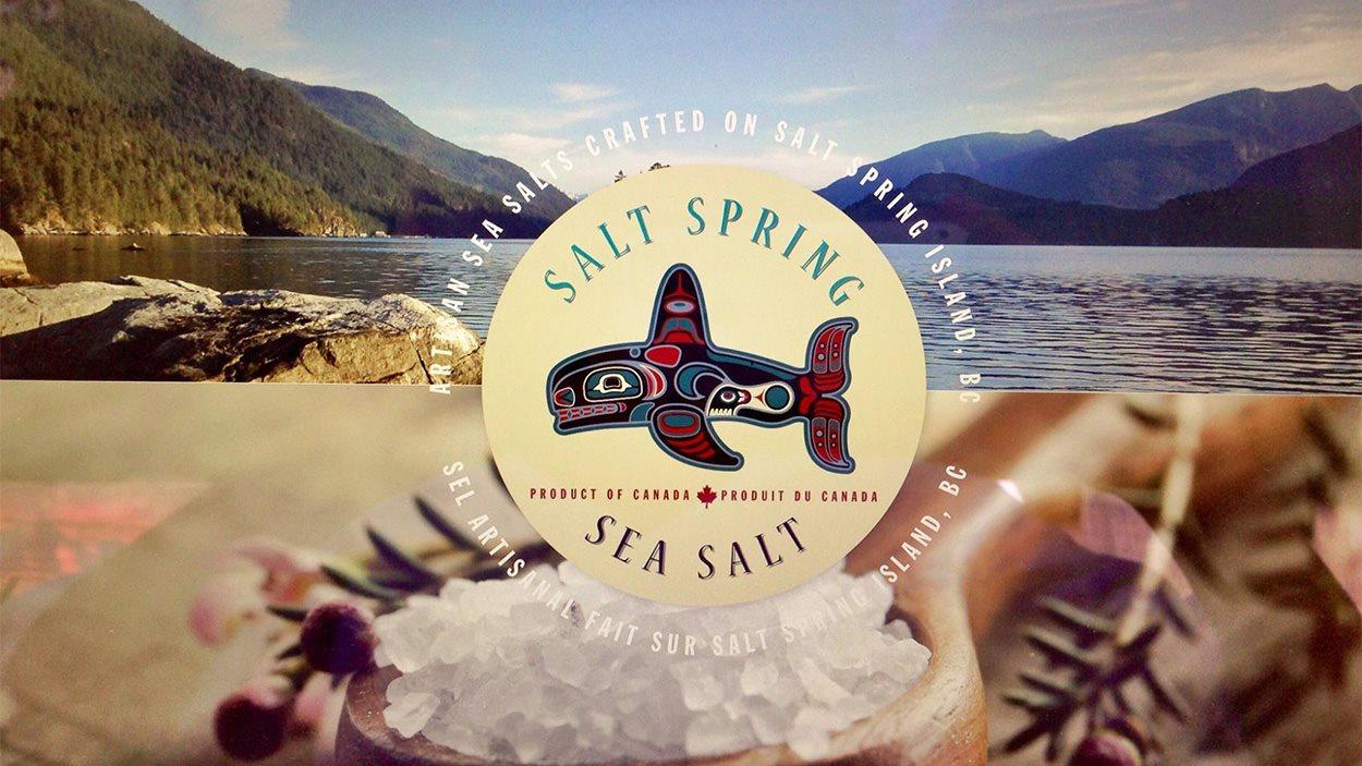 La fleur de sel de Salt Spring Sea Salt