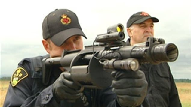 Canadian Company New Style Of Non Lethal Ammo For Police