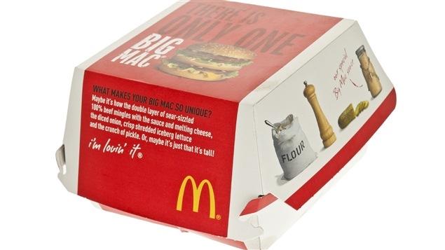 Le fameux Big Mac de McDonald's