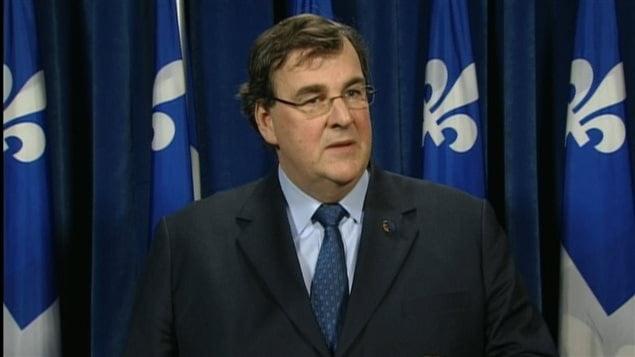 François Blais, le ministre de l'Éducation et de l'Enseignement supérieur du Québec
