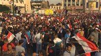 Sur la place Tahrir de Bagdad, les Irakiens aussi sont en colère