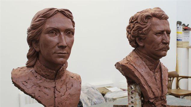 Projet de mémorial Louis Riel et Marie-Anne Gaboury