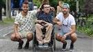Porté par la foule en fauteuil roulant à Osheaga, l'histoire derrière la vidéo virale