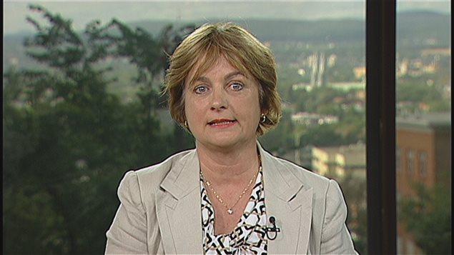Julie Miville-Dechêne, presidenta del Consejo del Estatus de la Mujer de Quebec.