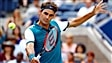 Federer coule de source, Simon s'écroule
