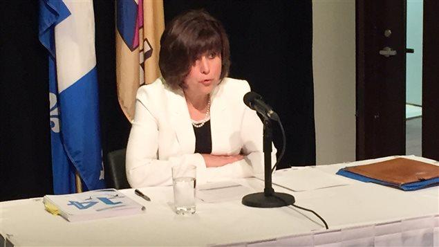 Michelle Galipeau, vérificatrice générale de la Ville de Laval
