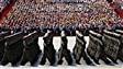 En démonstration à Pékin, l'armée chinoise réduira ses effectifs