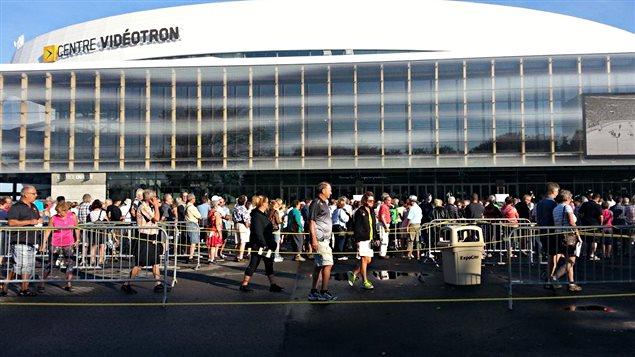 Les visites du Centre Vidéotron ont commencé.