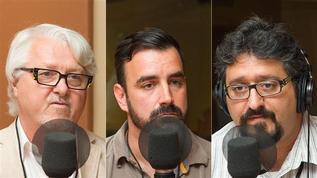 Louis-René Dessureault, Patrick MacFarlane et Ghassan El Baalbaki