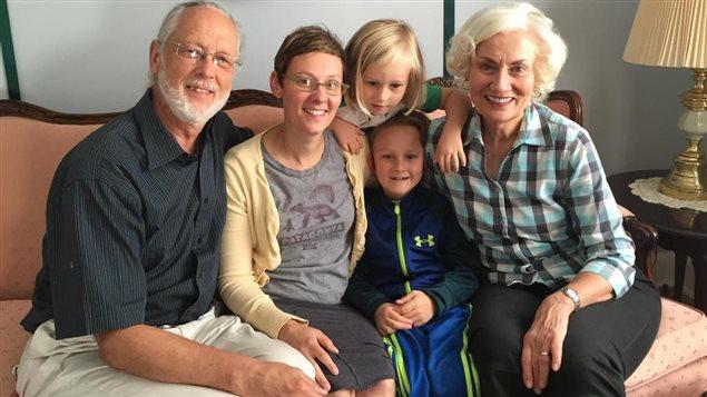 La famille Cherland.