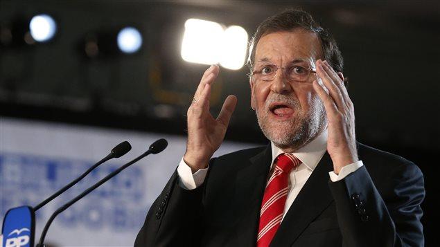 El presidente en funciones de España, Mariano Rajoy