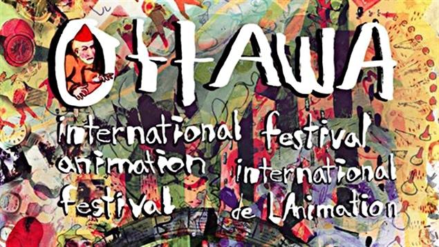 L'affiche du Festival international de l'Animation d'Ottawa 2015.