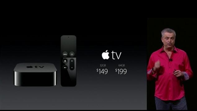 Apple lance ses nouveaux produits.