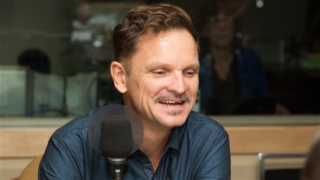L'écrivain, éditeur et scénariste David Bouchet