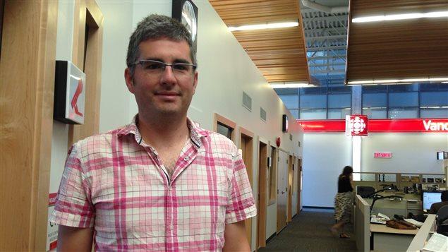 Nicolas Kenny, professeur d'histoire à l'Université Simon Fraser