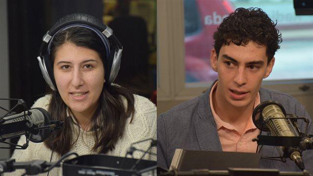 Libana Kassab et Benjamin Doudard