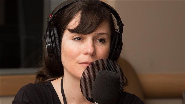 L'auteure Dominique Fortier