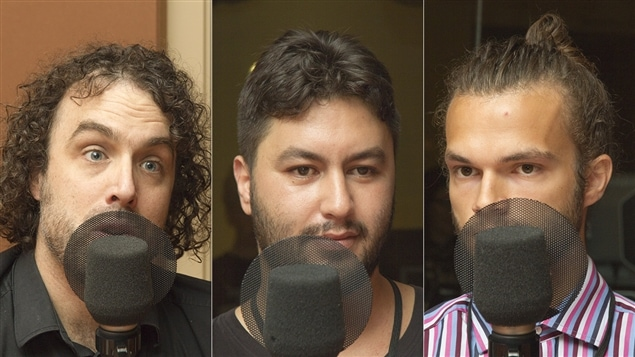 Jean-Philippe LeBlanc, Saïd Medouni et Marc-Olivier Castonguay
