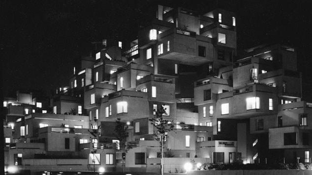Habitat 67 la nuit