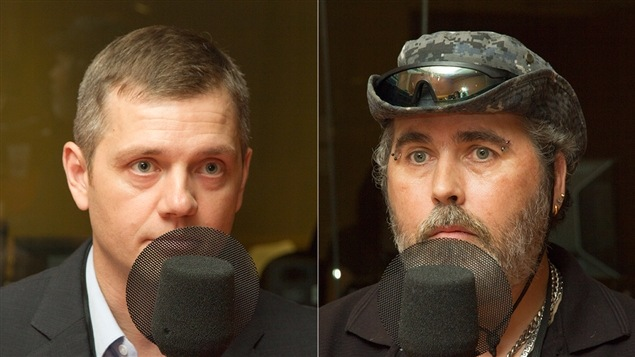 Alexandre Dumais et Richard Breton
