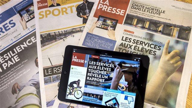 La Presse met fin à sa version papier en semaine à compter du 1er juillet 2016.