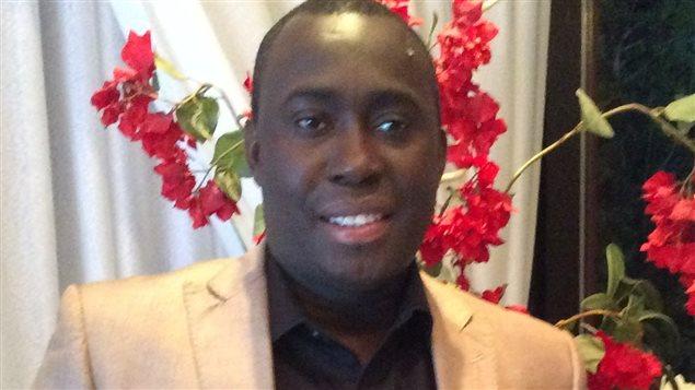 Notre collaborateur,  Moussa Bienvenu Haba, de la Chaire de recherche du Canada sur la justice pénale internationale et les droits fondamentaux de l'Université Laval.