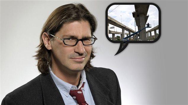Jean-René Dufort estime que les Montréalais sont trop tolérants envers les chantiers de construction.