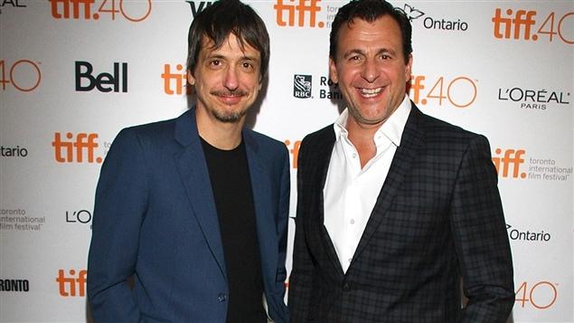 Le réalisateur Philippe Falardeau et l'acteur Patrick Huard au Festival international du film de Toronto