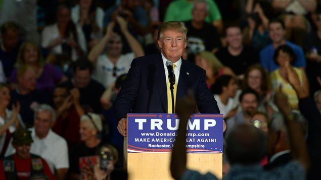 Le candidat à l'investiture républicaine Donald Trump.