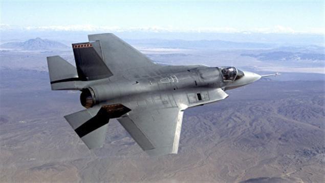 Un chasseur F-35