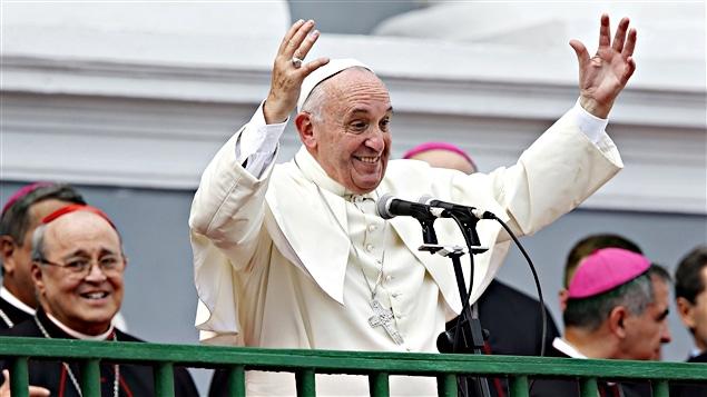 Le pape François à Santiago de Cuba