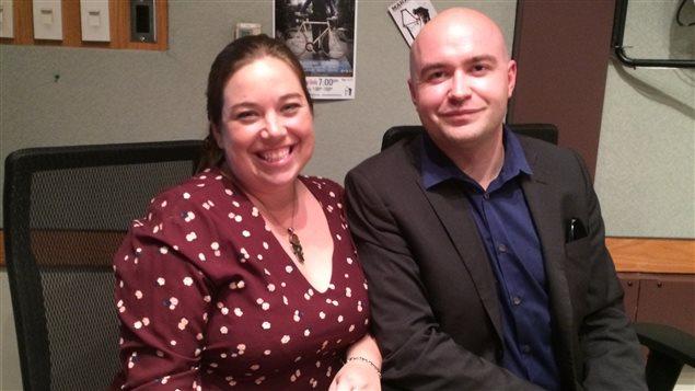 Deux des trois aspirants au conseil d'administration de l'ACFA provinciale : Isabelle Cliche de Cochrane et Guillaume Laroche de Calgary