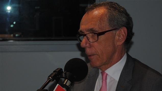 René Hamel, président du conseil d'administration de Puissance Onze.