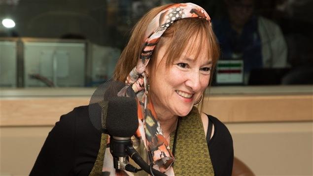 L'auteure Chantal Garand, gagnante du Prix du récit Radio-Canada 2015