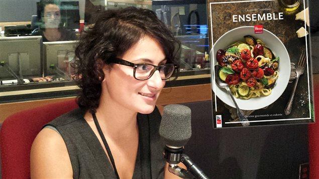 Christelle Tanielian, auteure de <em>Ensemble, cuisine gourmande et colorée</em>