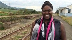 Kédina Fleury-Samson, candidate du Bloc québécois dans Avignon-La Mitis-Matane-Matapédia