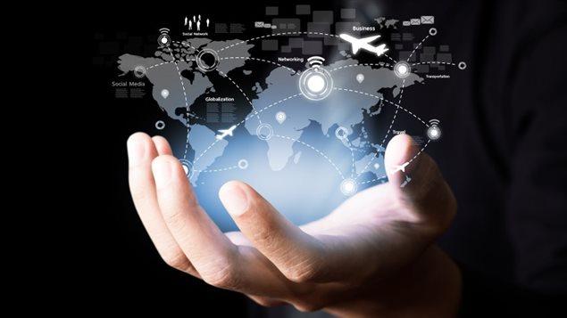 Le réseau mondialisé des communications