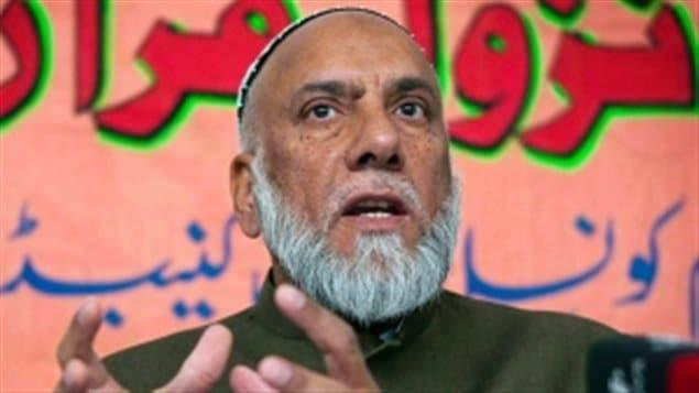 L'imam Syed Soharwardy.