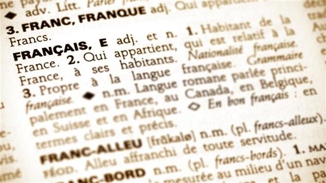 Définition du mot français