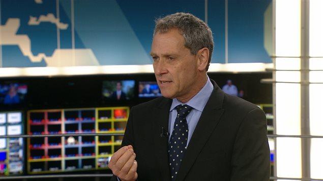 Le directeur de l'information de Radio-Canada, Michel Cormier