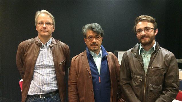 La table ronde politique du 25 septembre avec Frédéric Boily, Julian Castro-Réa et Colin Champagne