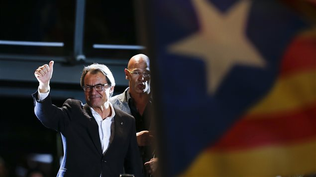 Le leader catalan Artur Mas.