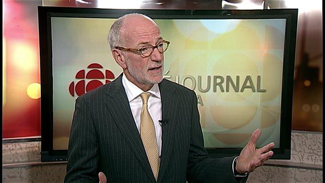 Le président-directeur général de CBC/Radio-Canada, Hubert Lacroix
