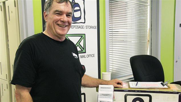 Robert Brunet, agent de relations communautaires à Élections Canada
